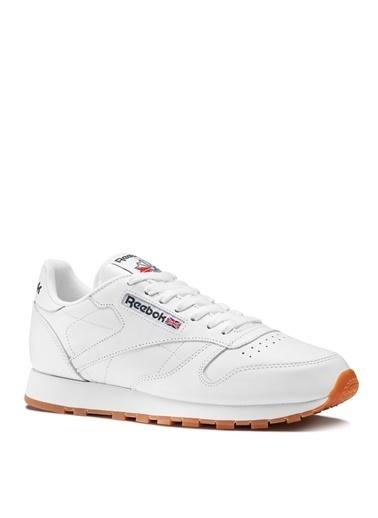 Reebok Reebok CL Leather 49799 Lifestyle Ayakkabı Beyaz